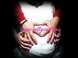 Καλούπι κοιλιάς εγκυμοσύνης Bellycast